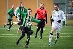 Přípravný fotbalový zápas Petřkovice - Dětmarovice, 15. února 2020 v Ostravě.
