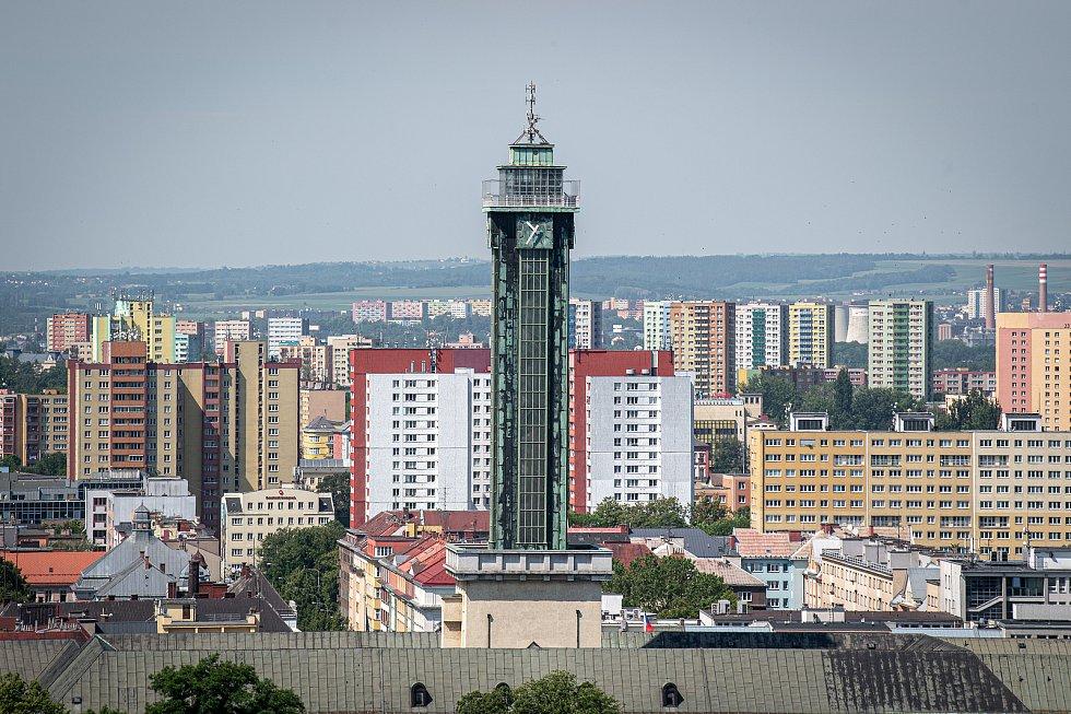 Nová radnice v Ostravě.