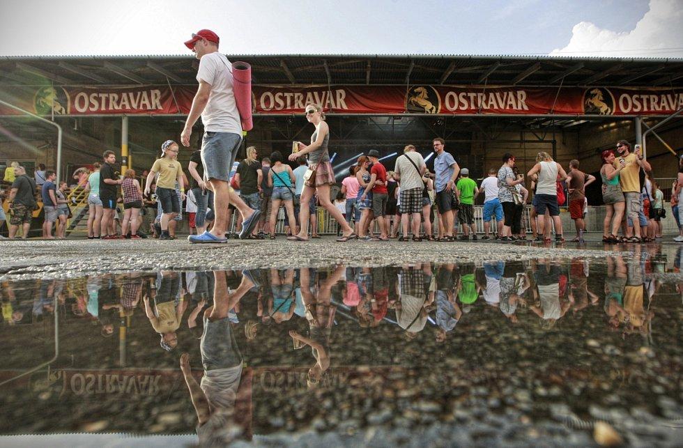 SLAVNOSTI PIVOVARU OSTRAVAR - 16. ročník letos začal už v pátek, poprvé byl třídenní.