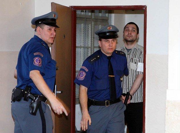 Marek Pliska u krajského soudu v Ostravě