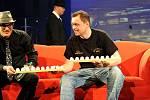 Snímek z natáčení oblíbeného pořadu Show Jana Krause v multifunkční aule Gong v Dolních Vítkovicích.