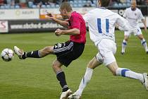 Fotbalisté ostravského Baníku nestačili v nedělním prvoligovém zápase na České Budějovice a z jižních Čech si vezou porážku 1:2.