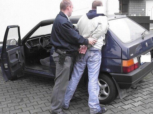 Zadržený muž není pro policisty neznámý