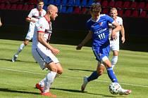 Zlaté Moravce - Baník Ostrava 3:2. Přípravný zápas, 1. 8. 2020. Foto: FC Baník Ostrava