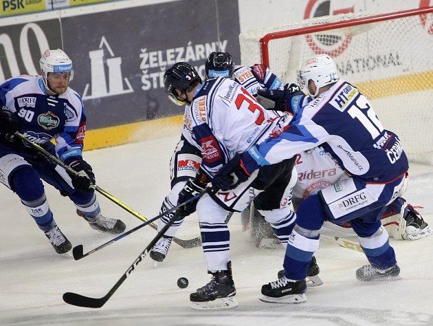Hokejisté Vítkovic. Ilustrační foto.