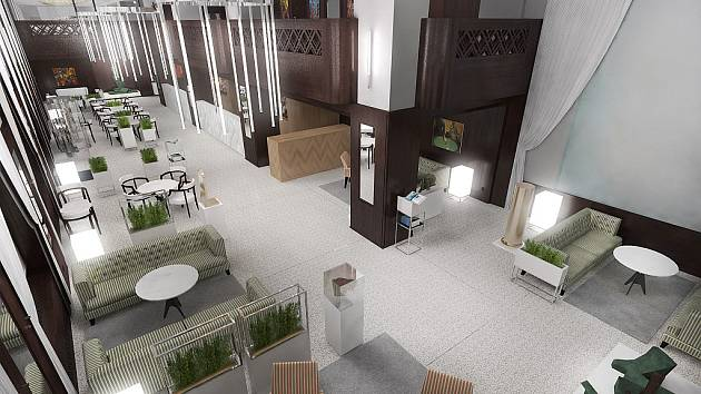 Kavárna Elektra naváže na legendární prvorepublikový podnik, její interiér ale bude jiný.