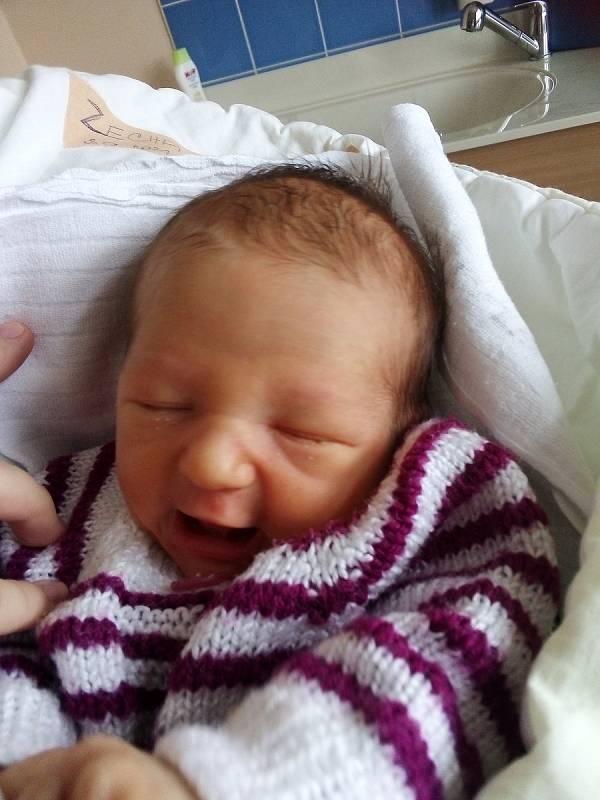 Mikuláš Zecha, Malé Heraltice, narozen 3. září 2021 v Krnově, váha 2830 g, míra 49 cm. Foto: Pavla Hrabovská