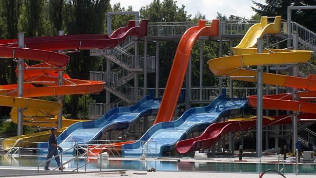 Aquapark v Ostravě-jihu
