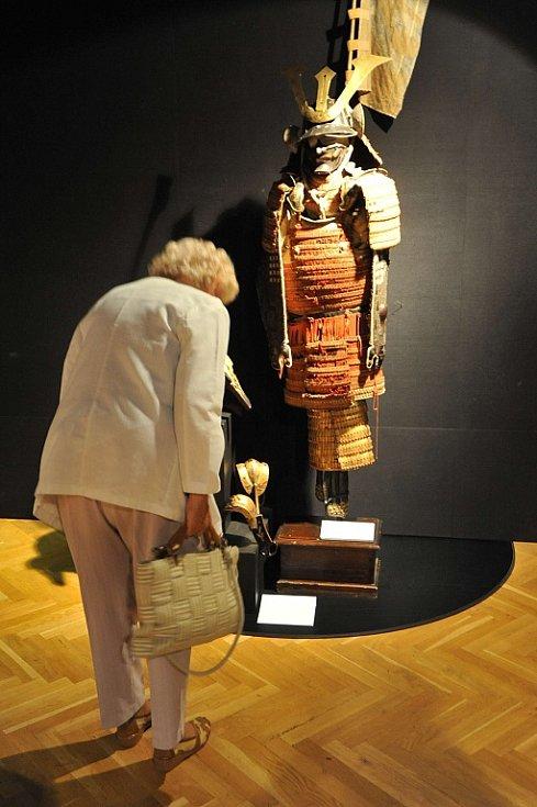 Festival Japonské dny přivezl do Ostravy i výstavyu japonského umění.