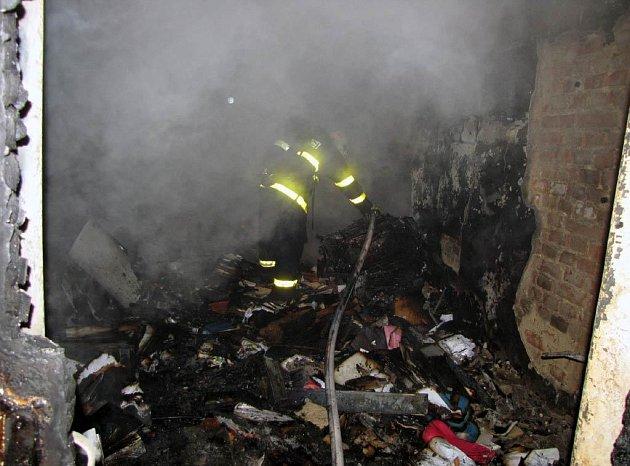 V noci hořelo na Základní umělecké škole v Ostravě-Zábřehu