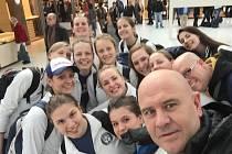 Házenkářky Poruby na výjezdu do Francie.