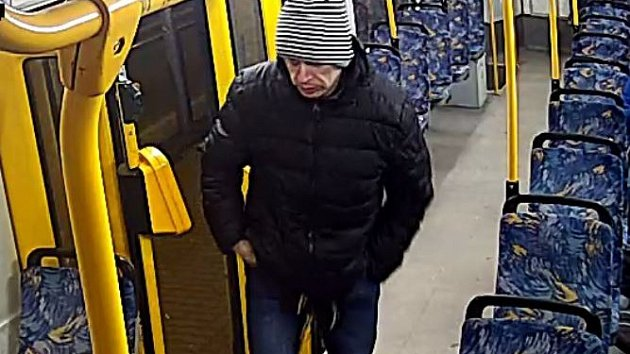 Záběry z tramvaje