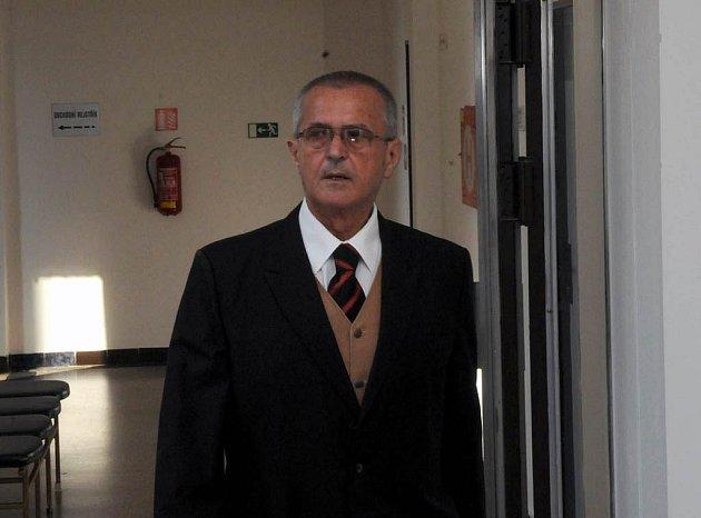 Antonín Krumnikl u ostravského krajského soudu