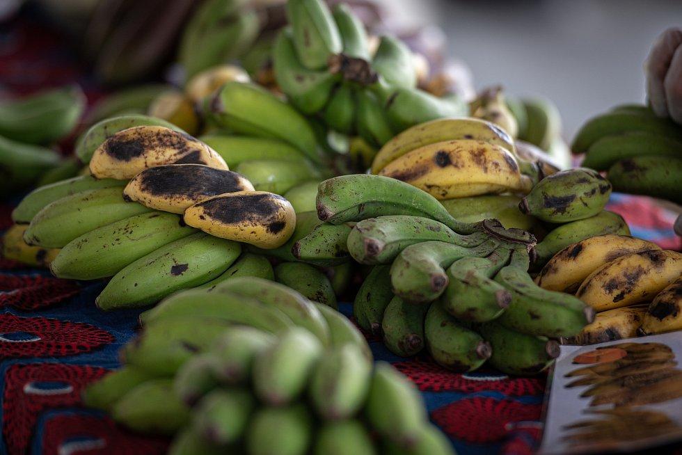 Africké trhy v Trojhalí, 9. května 2020 v Ostravě.