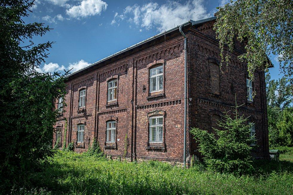 Městská čtvrť Bedřiška v jihozápadním výběžku místní části Hulváky ostravského městského obvodu Mariánské Hory a Hulváky, 22. července 2020 v Ostravě.
