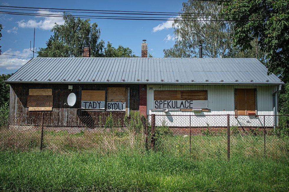 Lokalita Bedřiška, 22. července 2020 v Ostravě.