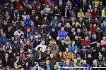 43. kolo hokejové extraligy mezi HC Vítkovice Ridera - HC Rytíři Kladno v Ostravě dne 2. února 2020. Na snímku diváci/fanoušci.