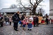 Vánoce na Slezskoostravském hradě, 15.prosince 2018 v Ostravě.