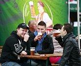 Druhý ročník pivního festivalu Oktobe(e)rfest v areálu obchodního centra Forum Nová Karolina v Ostravě.
