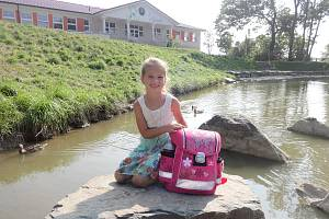 Nelinka Prchalová, 6 let, Velká Polom, ZŠ Velká Polom