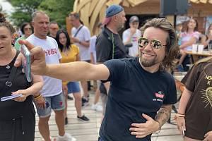 Richard Krajčo, na Stezce Valašce se stal v sobotu 19. června 2021 pátou celebritou na tamním chodníku slávy.