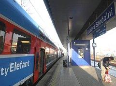 Ilustrační foto ze stanice Ostrava-Stodolní, kam právě přijel vlak z Opavy