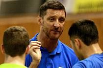 Polský reprezentační univerzál Piotr Gruszka vloni ukončil svou hvězdnou kariéru. Letos se stal trenérem Bielsko-Białe, kterou přivezl na mezinárodní turnaj volejbalistů Ostrava Cup.