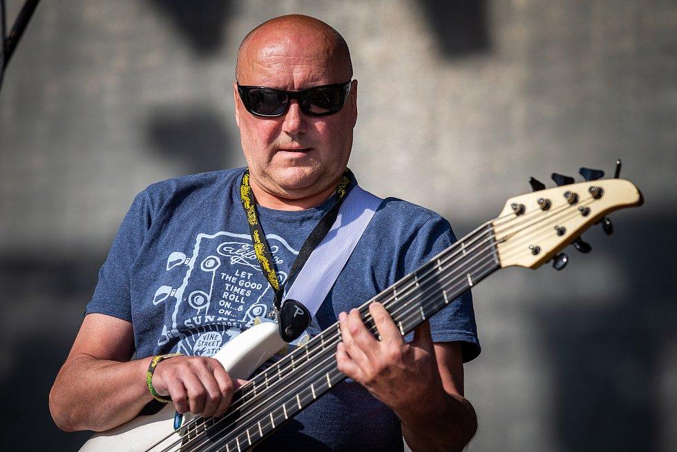 Hudební festival Colours of Ostrava 2019 v Dolní oblasti Vítkovice, 17. července 2019 v Ostravě. Na snímku Petr Vavřík.