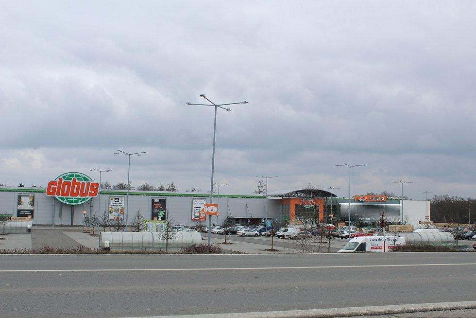 Globus v Plesné.