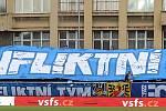 Fanoušci Baníku. Foto: Petr Kotala