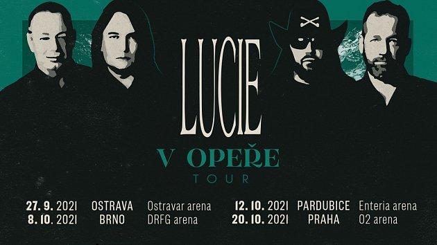Lucie zamíří vOpeře Tour také do Ostravy. Přeprodej startuje vlednu!