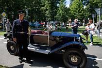 Soutěž elegance historických vozidel, Bohumín, 7. srpna 2021.