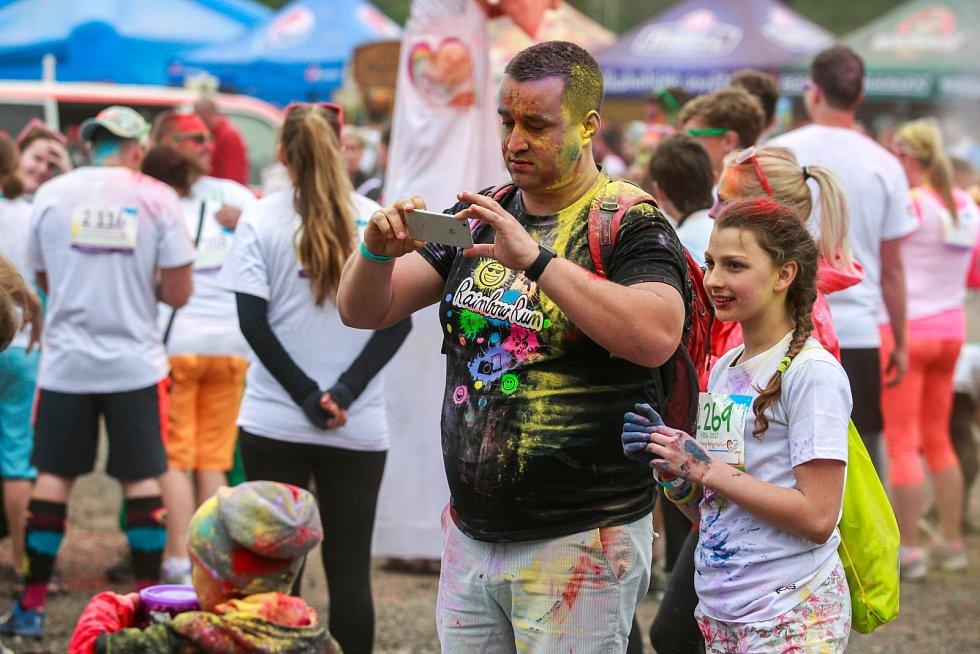 Rainbow run 2017 v Dolní oblasti Vítkovic v Ostravě.