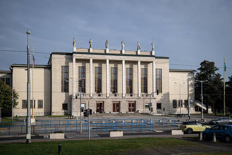 Tisková konference města Ostravy k projektu koncertního sálu, 14. října 2021 v Ostravě.