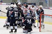Utkání 30. kola hokejové extraligy: HC Vítkovice Ridera - HC Škoda Plzeň, 28. prosince 2018 v Ostravě.