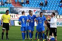 Snímky z utkání Baník Ostrava – 1. FK Příbram 2:0 (1:0).