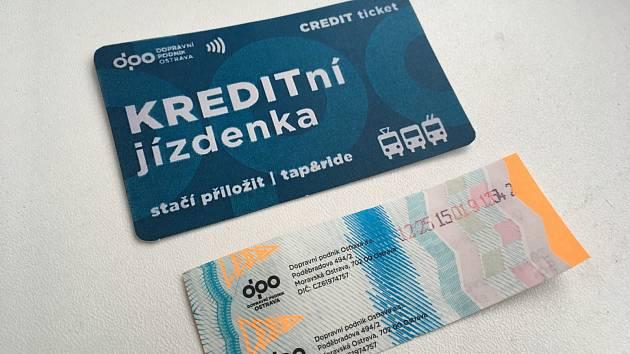 Papírové jízdenky v Ostravě k 1. lednu 2020 skončí.