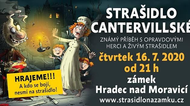 Strašidlo cantervillské na zámku Hradec nad Moravicí