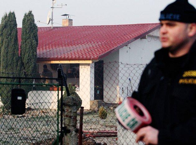 V tomto domku byla v únoru letošního roku zavražděna šedesátiletá žena