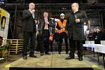 První jarní paprsek v úterý 20. března slavnostně otevřel revitalizovanou vysokou pec č. 1 v Dolní oblasti Vítkovic.