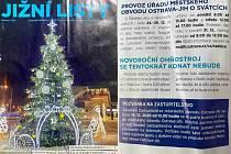 Prosincové vydání Jižních listů.