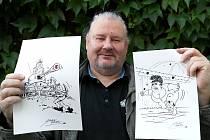 Zastavení sovětského tanku krumpáčem či kamenování choti soudruha velitele, k těmto příběhům v díle Oldřicha Šuleře jsou i působivé ilustrace.