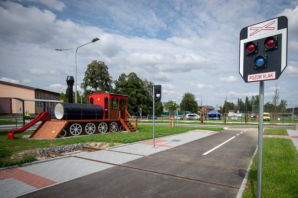 Nově otevřené dopravní hřiště 6. zaří 2019 v Ostravě.