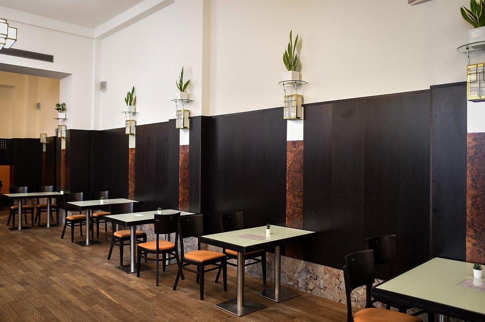 Radniční Restaurace v Ostravě.