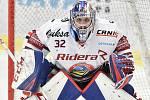 Utkání 32. kola hokejové extraligy: HC Vítkovice Ridera - PSG Berani Zlín, 4. ledna 2019 v Ostravě. Na snímku brankář Vítkovic Patrik Bartošák.