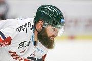 Čtvrtfinále play off hokejové extraligy - 3. zápas: HC Vítkovice Ridera - HC Oceláři Třinec, 24. března 2019 v Ostravě. Na snímku Jan Výtisk.