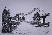 Historický snímek dokládá, kudy tekl - a stále teče - Starobělský potok.