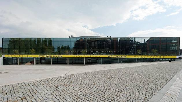 Unikátní Velký svět techniky v ostravské Dolní oblasti Vítkovice slavnostně otevírá už tento pátek.