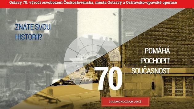 Úvodní stránka speciální webové prezentace Moravskoslezského kraje.