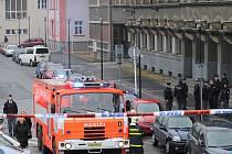 Policisté a další záchranné složky integrovaného záchranného systému byli v pátek v pohotovosti. Někdo totiž oznámil, že se v budově Krajského soudu v Ostravě nachází bomba.